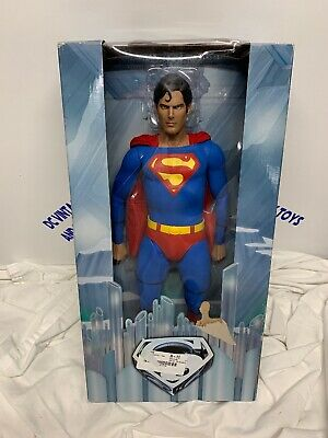 New 18-Inch Superman The Movie Figure 1/4 Scale Christopher Reeve Neca Reel Toys