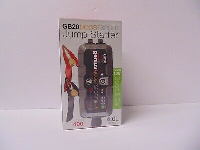 GB20 BOOSTER SPORT JUMP STARTER by NOCO