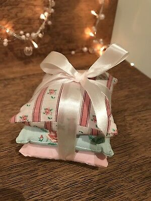 Shabby Chic Pillow Stack Trio