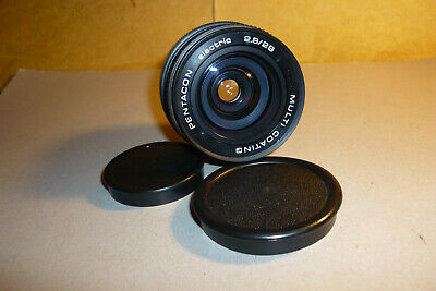 M42mm Objektiv - lens Pentacon electric 2,8/29 Multi Coating ! Top !