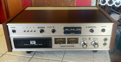 Vintage Akai GXR-82D 8 Track Player/Recorder  Works Well