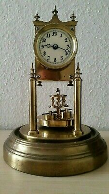 Gustav Becker 400 day clock, torsion dome clock, antique anniversary clock
