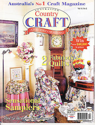 Aust Country Craft & Decorating Magazine Vol 11 No 2