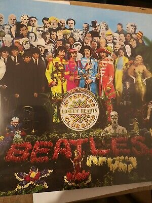 """Beatles """" Sgt Peppers Lonely Hearts Club Band """"180 Gram Vinyl Lp New & Sealed"""