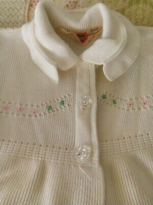 Gorgeous Vintage Baby Girl Coat And Bonnet