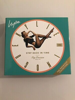 KYLIE MINOGUE STEP BACK IN TIME SPECIAL EDITION 3-CD F9 Megamix