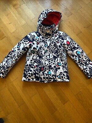 Girls Kids Roxy Dryflight Ski Jacket - Multi Colour.  Size 140cm 10yrs