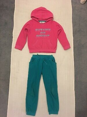 Girls Sport Tracksuit Set Age 6Yr
