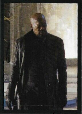 MARVEL - THE AVENGERS - STICKER COLLECTION - No 69 - NICK FURY - By PANINI
