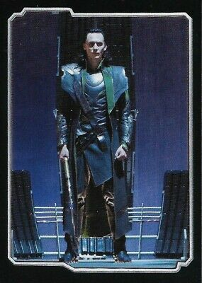 MARVEL - THE AVENGERS - STICKER COLLECTION - No 67 - LOKI - By PANINI