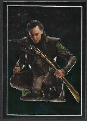 MARVEL - THE AVENGERS - STICKER COLLECTION - No 61 - LOKI - By PANINI