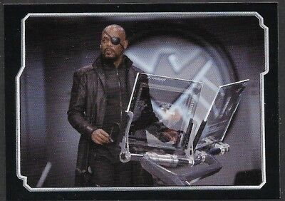 MARVEL - THE AVENGERS - STICKER COLLECTION - No 20 - NICK FURY - By PANINI