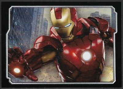 MARVEL - THE AVENGERS - STICKER COLLECTION - No 11 - IRONMAN - By PANINI