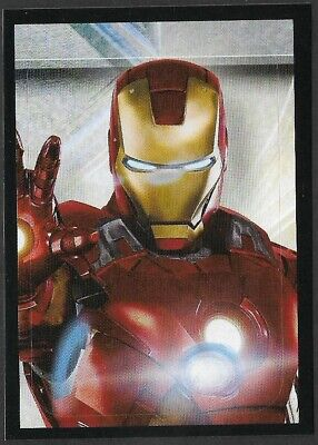 MARVEL - THE AVENGERS - STICKER COLLECTION - No 8 - IRONMAN - By PANINI