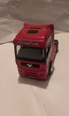 MAN racing team truck cab in good condition