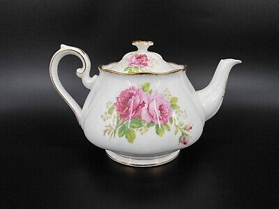 Royal Albert American Beauty Large 6 Cup Teapot Bone China England