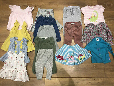 Large Baby Girl Bundle 6-9 Months Bundle 15 Items Jojo Zara John Lewis M&S