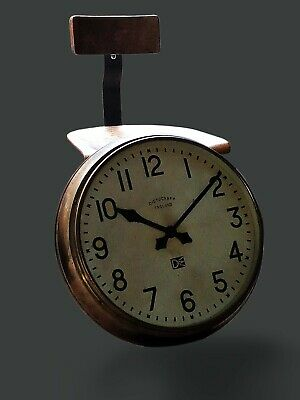 Magneta Clock / Large Industrial Antique Clock / Factory Clock/ Station Clock