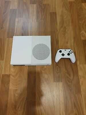 Microsoft Xbox One S 1TB Console - White with Controller