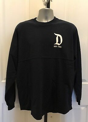 "Disneyparks ""Disneyland Resort Est. 1955"" Spirit Jersey Black Small Nwt!"