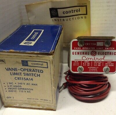 GE CR115A 14 Vane Operated Limit Switch