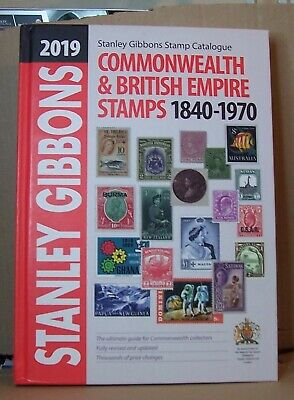 Stanley Gibbons Commonwealth & British Empire Stamp Catalogue 2019, NEW (A628)