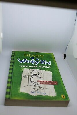 Diary of a Wimpy Kid: 'The Last Straw' Book 3 by Jeff Kinney (Paperback, 2009)