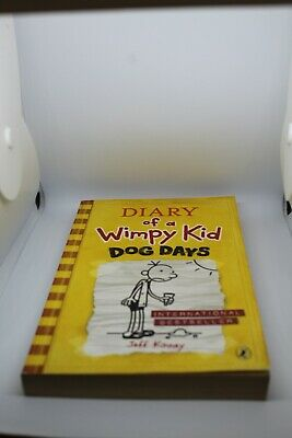 Diary of a Wimpy Kid: 'Dog Days' book 4 by Jeff Kinney (paperback, 2010)