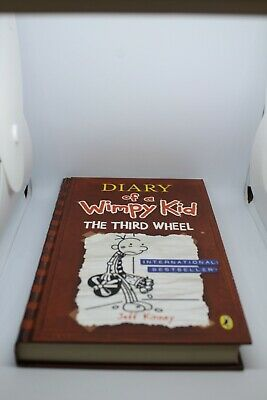 Diary of a Wimpy Kid: 'The Third Wheel' Book 7 by Jeff Kinney (Hardback, 2012)