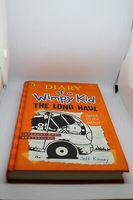 Diary of a Wimpy Kid: by Jeff Kinney 'The Long Haul': Book 9 (Hardback, 2014)
