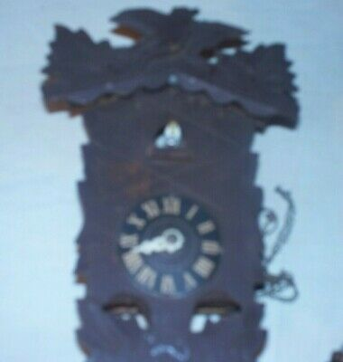 Wooden Cuckoo Clock For Restoration Or Parts
