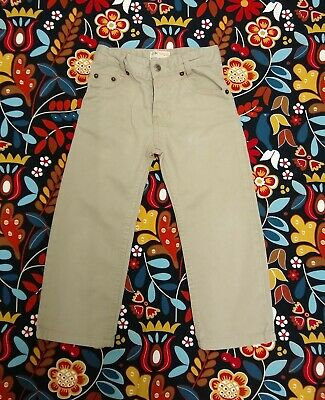 Timberland Beige Denim Jeans Trousers Age 4 years