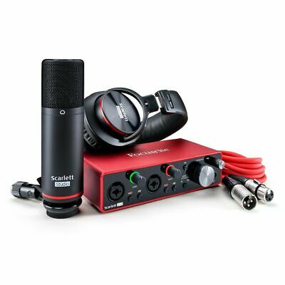 Focusrite Scarlett 2i2 Studio 3rd Generation Brand New