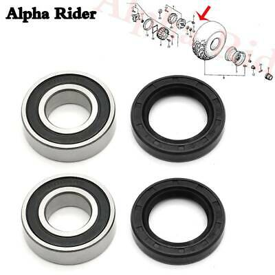 2x4 Only Iconic Racing Front Wheel Bearing and Seal Kits fits 00-06 Honda TRX350TE TRX350TM Fourtrax Rancher 350