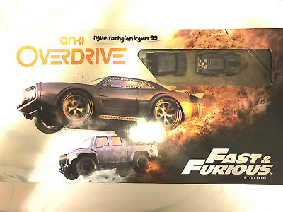 PRE-OWNED Anki Overdrive: Fast and Furious Edition GR8 DEAL 4 RACE CAR ENTHUSIAS