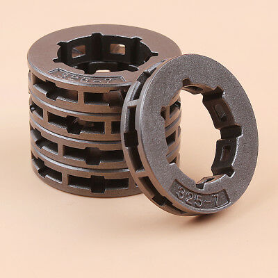 """.325""""-7T Chainsaw Rim Sprocket For Jonsered CS 2147 2149 2152 2153 Chain Saw 5PC"""
