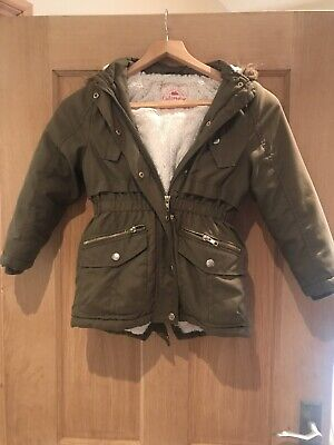 Girls Winter Coat Age 6-7 George @ Asda