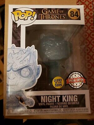 Funko Pop Night King glow dagger Crystal game of thrones GOT HBO exclusive