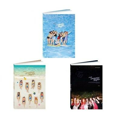TWICE - Summer Nights CD+Photobook+Photocards+Poster+Free Gift+Tracking no.