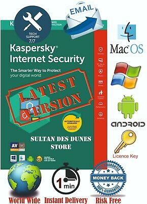Kaspersky Internet Security 🔑1PC/1Y 🔑 2020 🔑 Instant Delivery 🔑 World Wide