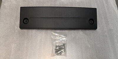 Genuine Porsche Short Number Plate Plinth 997.2 - 997.701.051.11