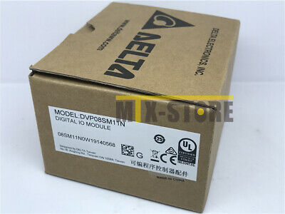 1pcs DELTA DVP08SM11N PLC Brand New IN BOX