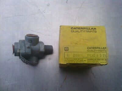 Caterpillar check valve assembly 2R0618 new old stock item. Suit various models.
