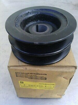 Caterpillar generator pulley 5M5335 new old stock item.