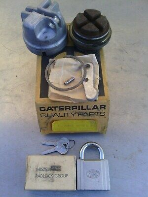 Caterpillar cover cap and pad lock assembly 2S6495 new old stock item.