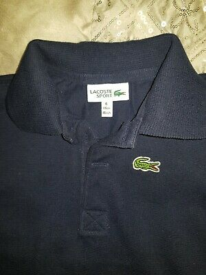 lacoste polo navy age 6 great condition