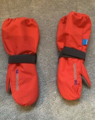 Gloves Didriksons Biggles Mittens Age 2-4 Ski Waterproof