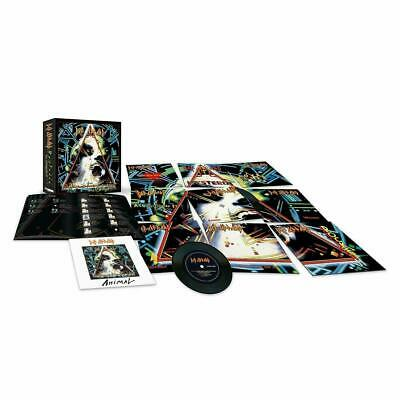 "Def Leppard - Hysteria: The Singles - Limited Edition 10 x 7"" Vinyl Box Set New"