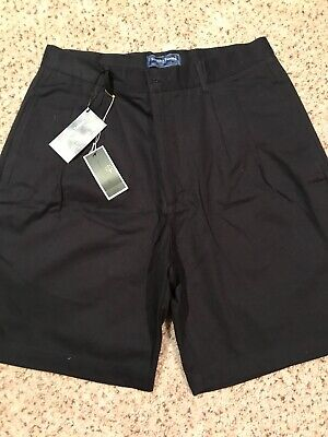 Smith & Tweed navy blue  Shorts Men's Size 32 Waist NEW With Tags