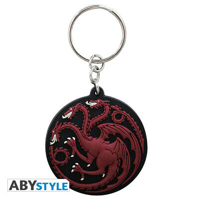Game Of Thrones - Targaryen PVC Keyring